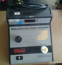 Wahl Instruments soldering iron tester st2000