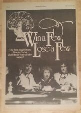 MONTE CARLO Win A Few Lose 1978 Edición anuncio completo Páginas 28 x 39cm