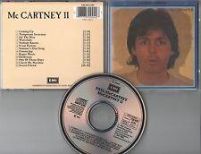 Paul McCartney  CD McCartney II  (c)  1987  EMI  W.Germany