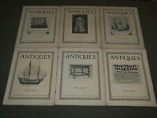 1923 ANTIQUES MAGAZINE LOT OF 8 ISSUES - NICE PHOTOS - O 2817