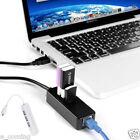Micro USB vers Réseau LAN Ethernet RJ45 Adaptateur 3 Ports 2.0 HUB Blanc