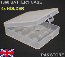 Soporte para Caja de Almacenamiento de Batería 2x 18650 Caja de contenedores - 4 Compartimiento-Calidad Nuevo