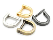 "5/8"" D-Ring Screw Shackle Horseshoe Diy Dee Connector Purse Replacement 4 pack"