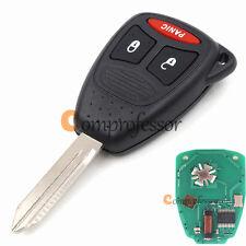 New Uncut Remote Key Fob 2+1 Button for Dodge Dakota Durango 2005-2010 KOBDT04A