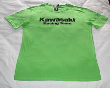 Kawasaki Racing Team Mens Green Printed Short Sleeve T Shirt Size XXL New