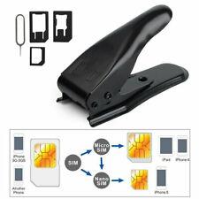 3-in-1 SIM Card Cutter 100% Precise Fit and Correct Cutting Micro/ Nano SIM Card