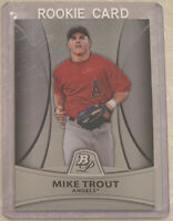 2010 Bowman Platinum Prospects #PP5 Mike Trout RC ROOKIE CARD Los Angeles Angels
