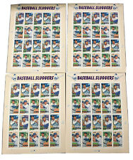 4 sheets USPS  Baseball Sluggers Sheet of 20 (4 Varieties)$.39 2006