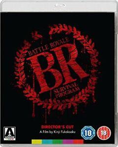 Battle Royale (Director's Cut) [Blu-ray] [DVD][Region 2]