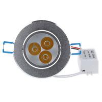 9W 12W 15W Dimmable LED Faretto da incasso a soffitto Faretto da incasso Lampada