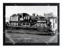 Historic Sunset Logging Co. - Timber, Oregon Train Postcard 1