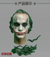 1/6 Scale CGL-09C Batman Joker Clown Head Sculpt Makeup Head Model Toy