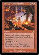 DECREE OF ANNIHILATION Scourge MTG Red Sorcery RARE