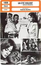 FICHE CINEMA : UN ETE VIOLENT - Drago,Trintignant,Zurlini 1959 Violent Summer