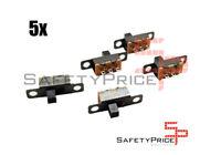 5x mini interruptor deslizante ON OFF Raspberry aereo panel PIC tornillo REF 387