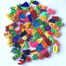 Over 100 Plastic Magnetic Letters & Numbers Variety Colorful Alphabet Learning