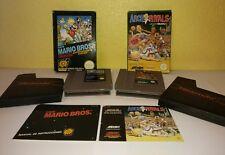 Lot games nintendo nes!!!, super mario bros and arch rivals, (see Descripcio