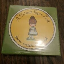 A Friend Paper Doll (1967) by Joan Walsh Anglund vintage Sealed NEW