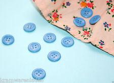 10 kleine uralte Celluloid Knöpfe für Puppenkleider 10 mm original Zelluloid