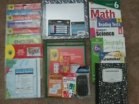 Sixth Grade: Homeschool Curriclum  : Math, Grammar, Reading, Science & History