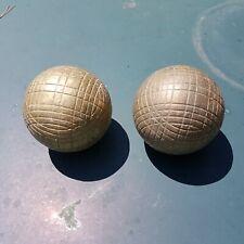 Paire de boules de pétanque - Occasion