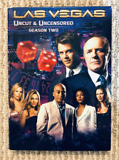 LAS VEGAS Second Season 2 Uncut & Uncensored (3 DISC SET) NBC TV Show Rare OOP