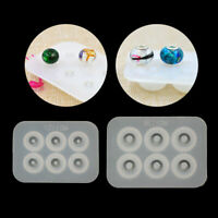 Big Hole Bead Silicone DIY Mold Fit For Add-a-Bead Bracelet Resin Jewelry Making