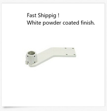 DCI Chair Adapter Belmont LSM, Westar Scratch Resistant 8493 Powder Coated WHITE