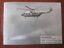 PHOTO PRESSE AEROSPATIALE TIR MISSILE AM39 EXOCET SUPER FRELON MARINE NATIONALE