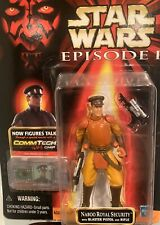 Star Wars Episode 1 Naboo Royal Security W/ Blaster And Rifle Mosc