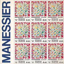 MANESSIER - GALERIE DU MESSAGER - MUSEE DE LA POSTE -1981 -