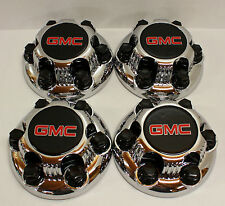 "Set of 4 Chrome GMC Sierra Yukon  Savana 6 Lug 1500 Center Caps 16""  17"" Wheels"