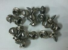 100 Bulk Pcs. Boat Marine Canvas Cover Stainless Screw Stud Fastener Snap Snaps