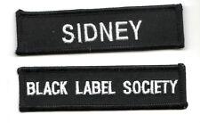 HEAVY METAL BAND BLACK LABEL SOCIETY BLS FAN CLUB CITY PATCH SET: BLS SIDNEY
