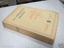 LA PERSONNE FRANCE PAUL DISTELBARTH editions alsatia 1942 *