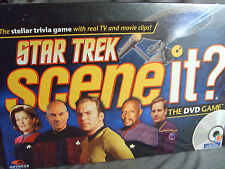 Star Trek The Next Generation Scene It DVD Board Game Sealed TNG Voyager TOS DS9
