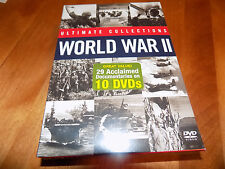 ULTIMATE COLLECTIONS WORLD WAR II WWII History Channel 10 Disc DVD SET NEW