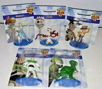 Disney Toy Story 4 Mini Figures Toys Set Lot of 5 New