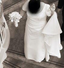 A Line Plus Size Short Sleeve Wedding Dresses For Sale Ebay
