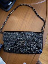 Chanel Patent Camilia Small Bag AUTHENTIC