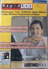 PC CD-ROM RapidKey autotext & makrorekorder für alle Windows-Programme