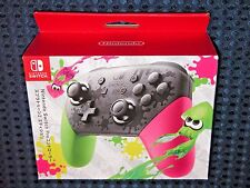 NEW Nintendo Splatoon 2 Switch Pro Controller Pad Console System Joy Con JAPAN