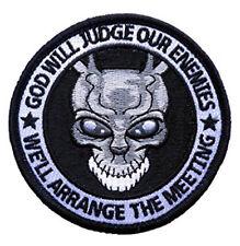 Special Forces Punisher Donnie Darko Alien Frank Spoof hook patch