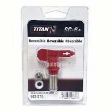 Titan Sc-6+ 662-215 Reversible Airless Paint Spray Tip 215