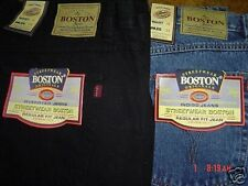 BIG SIZE MENS BOSTON STRONG WORK CASUAL LARGE JEANS  62  INCH WAIST FULL FIT NEW