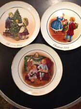 Avon Christmas Memories '82-'84 Collector Plates