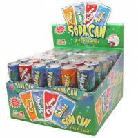 Soda Can fizzy candy 72ct KIDSMANIA SodaCan 17.78oz variety masterpak party box