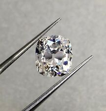 Collectable 3.81 Carats Old Mine Cushion Cut Loose Diamond GIA Certified H VS1