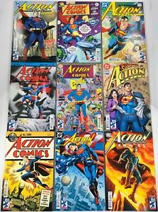 SET OF 11 SUPERMAN ACTION COMICS #1000 A-J VARIANTS + DF LIMITED ED JURGENS 2018