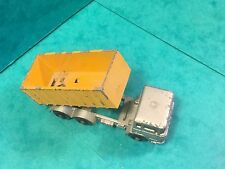 Lesney matchbox No47 tipper container truck daf .